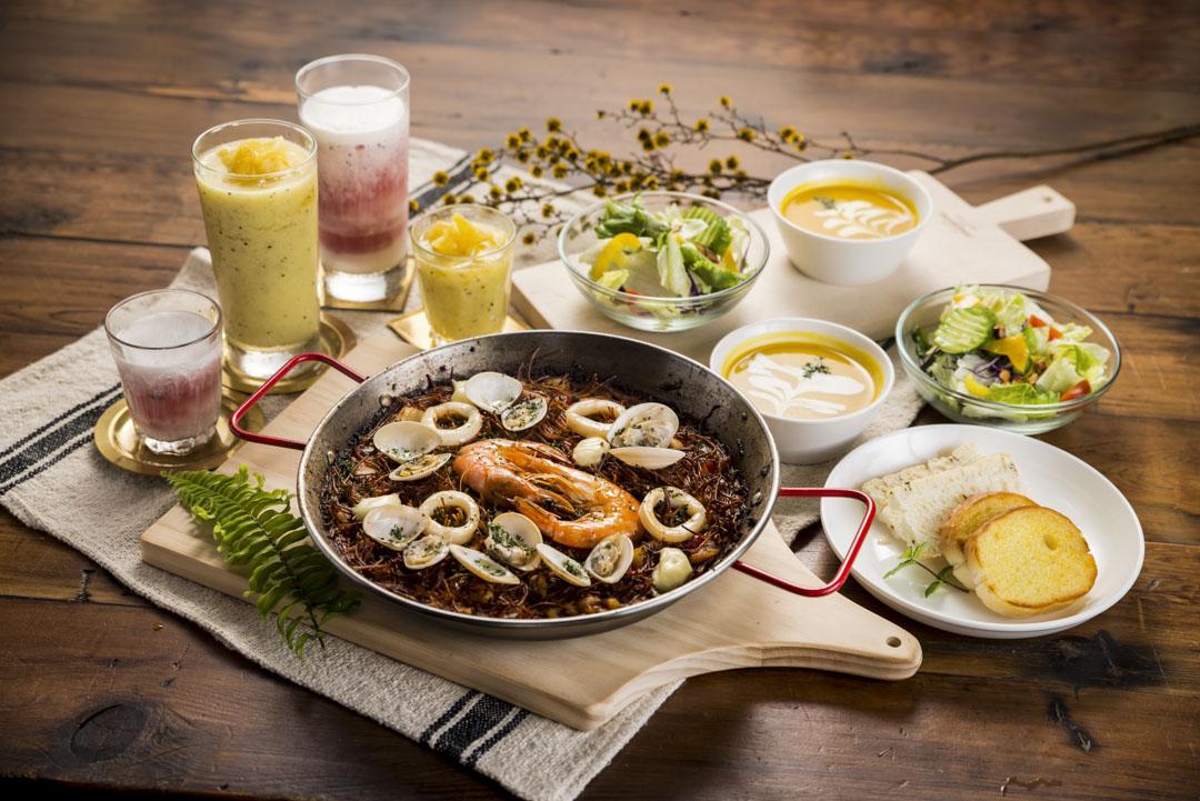 Serjio將花蓮道地食材融入西班牙菜餚中,以東部新鮮漁獲烹調而成的西班牙海鮮鍋飯,更是讓饕客品嚐了以後讚不絕口。