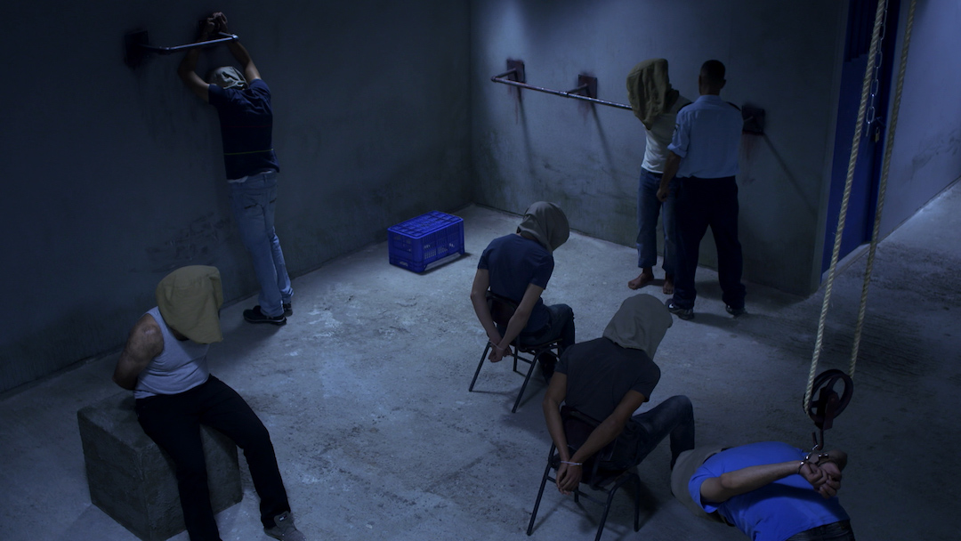 《捉鬼》導演以嶄新方法重現巴勒斯坦人被羈押的苦況,挑戰紀錄片的定義。