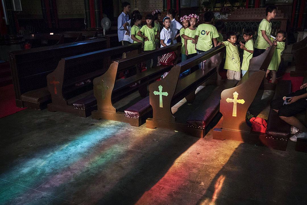 對於中梵協議,樂觀者相信不僅有助雙方建立更密切關係,更對中國天主教會以至中國宗教自由的狀況,起到積極作用。圖為北京的地上教會。 攝:Kevin Frayer/Getty Images