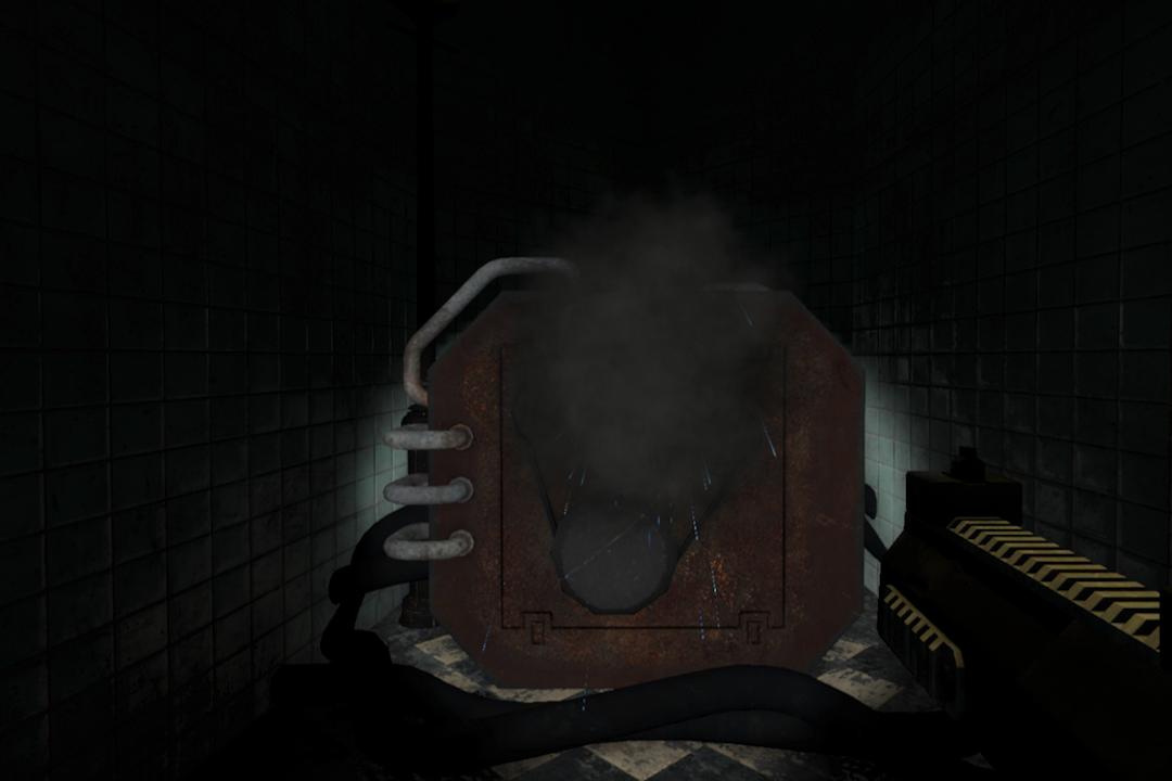 名叫 Coda 的創作機器被玩家射擊。