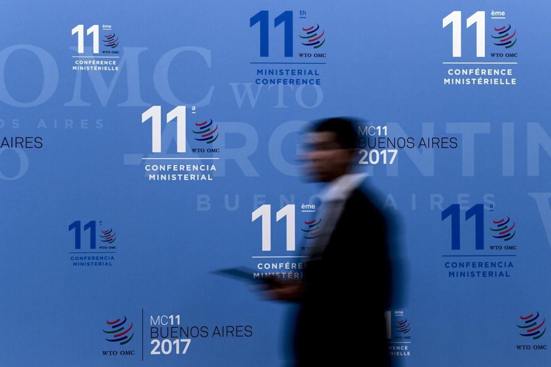 2017年12月,在阿根廷舉行的第11 屆WTO部長級會議,反映出會員國間持續且廣泛的分歧。