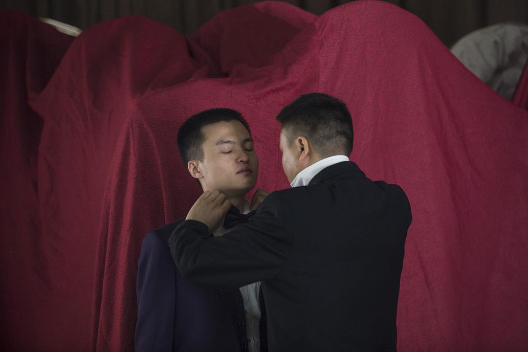2016年5月17日,孫文麟與胡明亮在中國湖南長沙舉行同性婚禮。