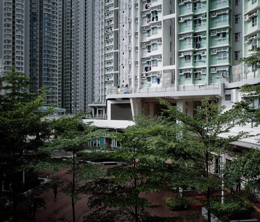 啟晴邨引入多項環境保護設計,包括利用電腦系統計算微氣候再應用在大廈設計上。