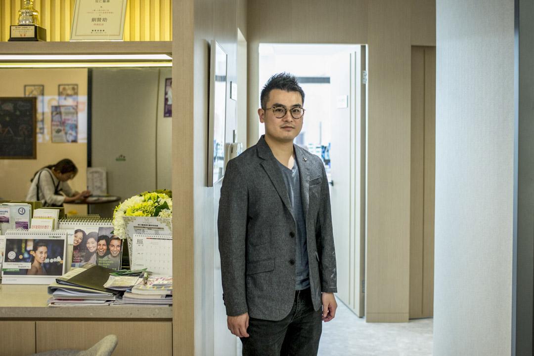擁有逾十年醫療營銷經驗的「優鯨健康」業務渠道總監蕭鎮賢。