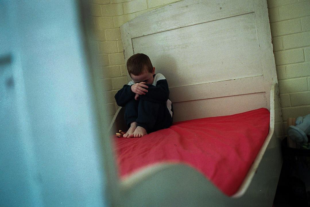 英國五個城市用大數據識別哪些家庭可能出現虐兒情況。 攝:Fairfax Media via Getty Images