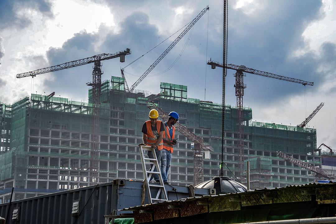 「一帶一路」是中國在汲取自身歷史教訓的基礎上,為克服大國崛起困境而提出的新的大戰略。圖為中國港灣工程公司於斯里蘭卡科倫坡開發的One Galle Face項目。 攝:Atul Loke/Bloomberg via Getty Images