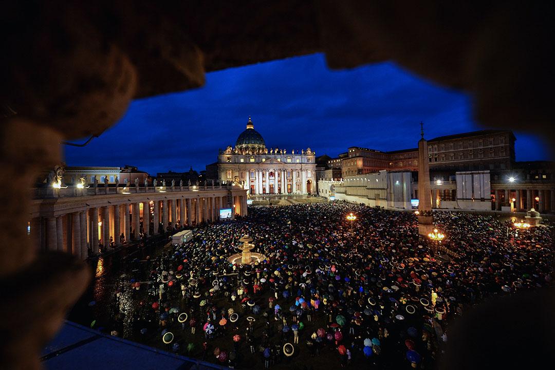 梵蒂岡聖彼得廣場。