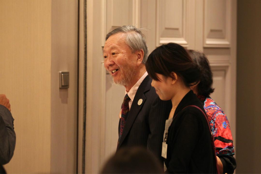 2014年9月19日,香港,眾星出席「高錕慈善基金」成立4周年慶典暨《高錕自傳》高錕八十大壽紀念版發布會。   攝:Joe/Imagine China