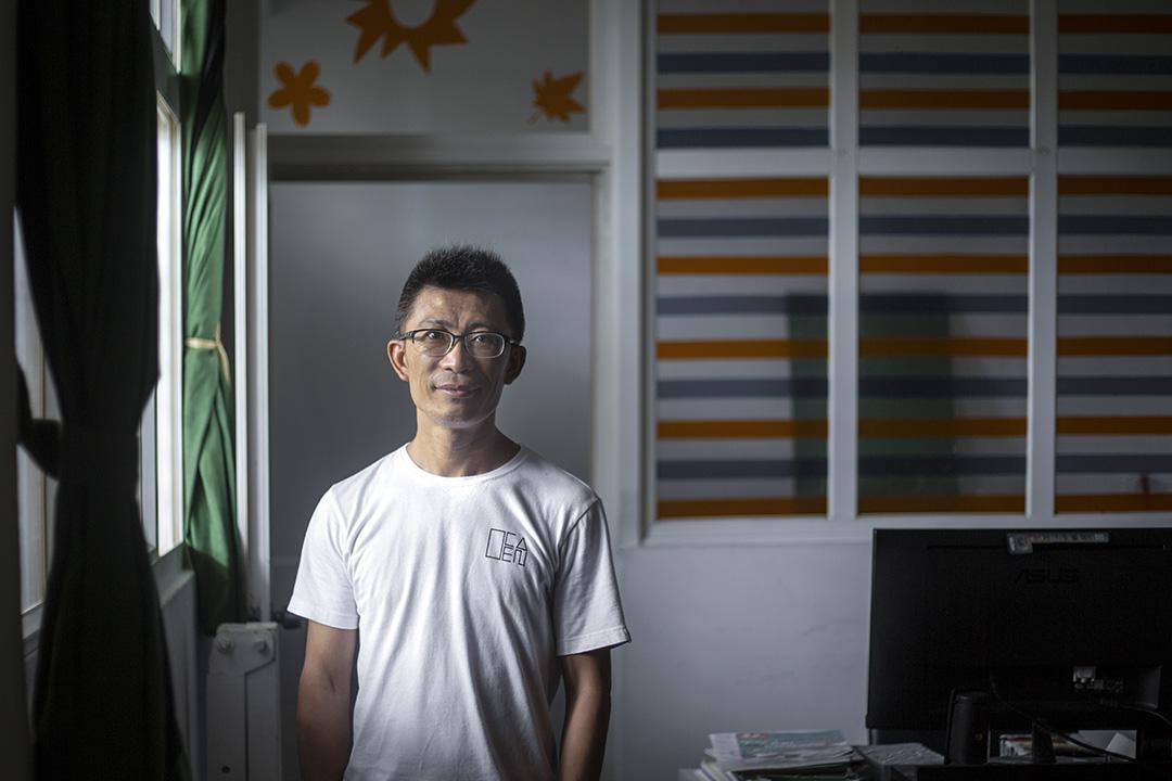 誠正中學校內負責逆風計劃的主要窗口是江仲敏。
