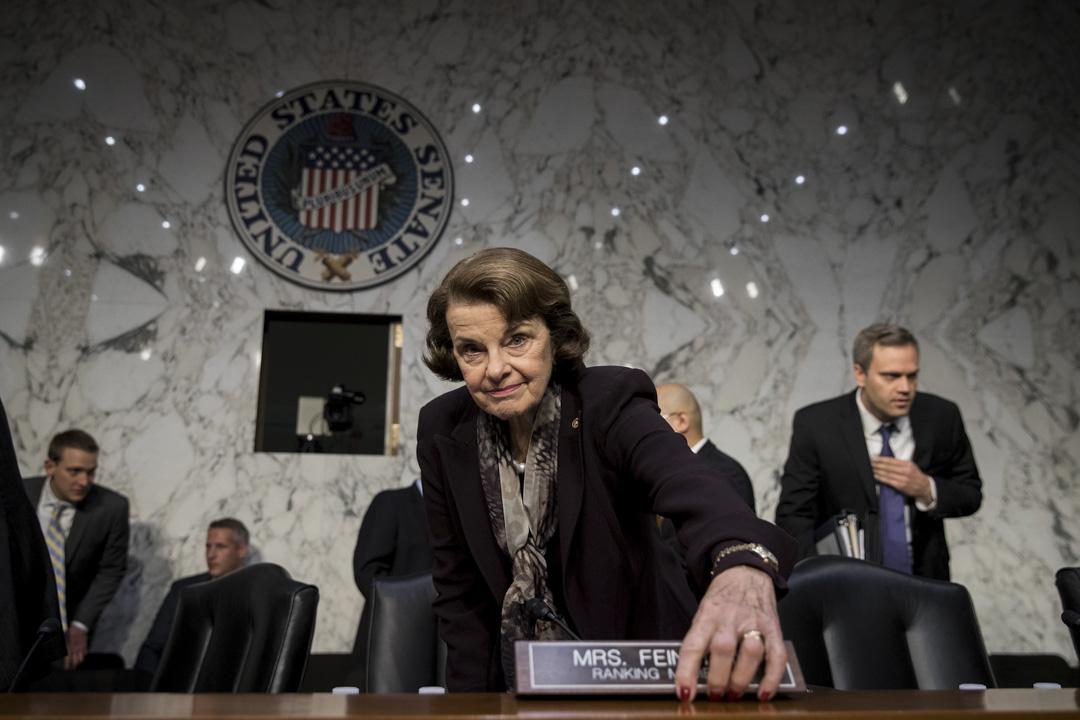 加利福尼亞州參議院席位的兩位民主黨候選人之一,現在美國參議員最老的成員(85歲),在任民主黨參議員戴安·費恩斯坦(Dianne Feinstein)。