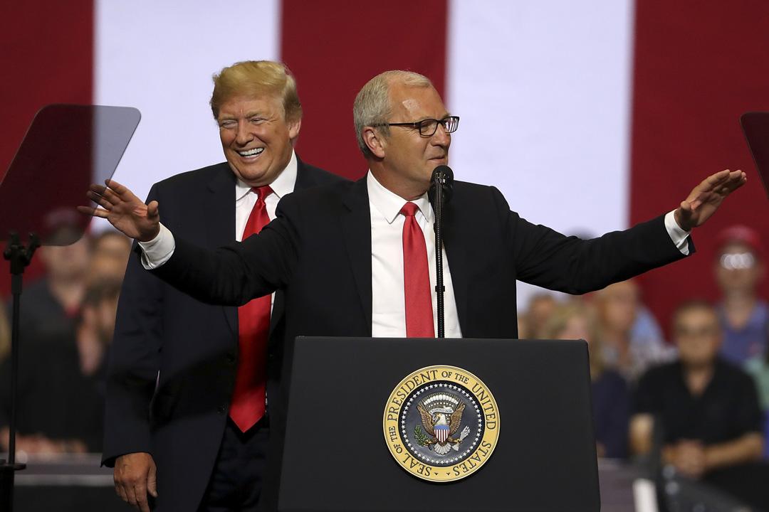 北達科他州(North Dakota)選舉中,有共和黨全力支持和特朗普背書的凱文·克雷默(Kevin Cramer)在近期的民調中已經取得了不小的領先,但由於小州的特殊性,很難在在這個階段就斷言勝負。