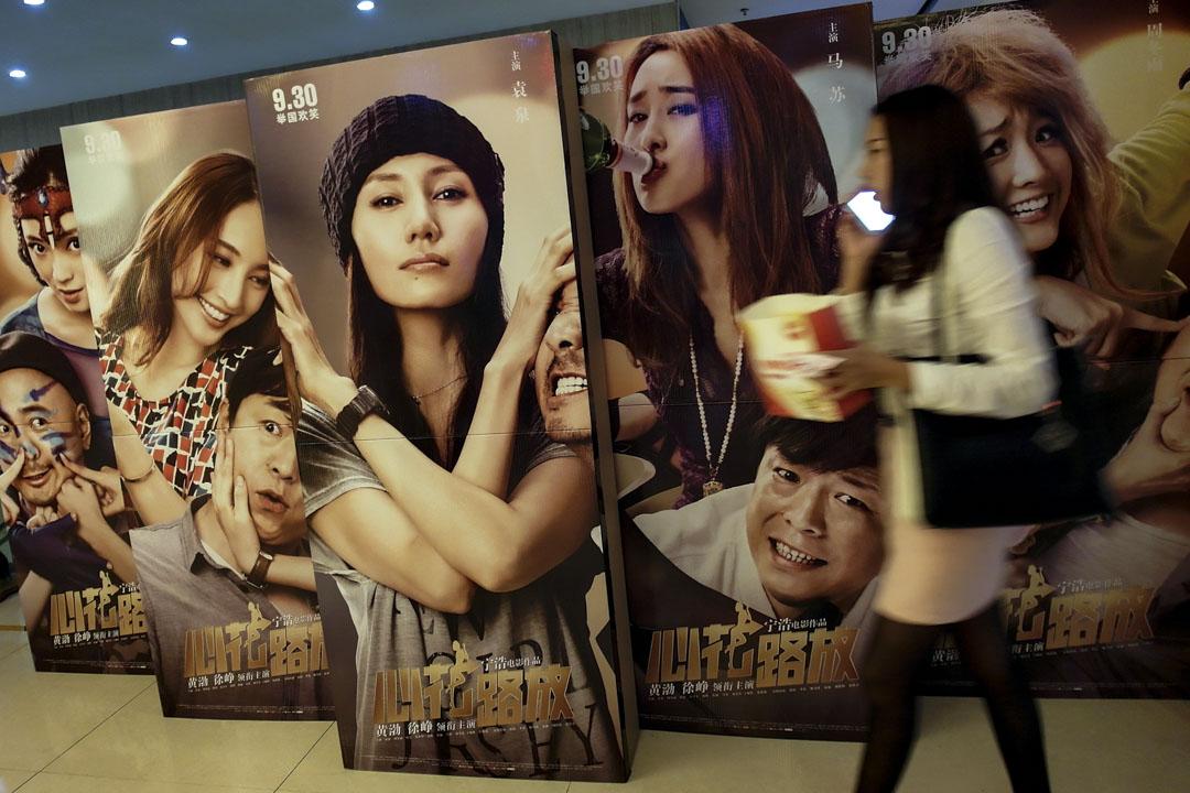 2014年的國慶檔期,《心花路放》通過提前半個月預售,並在預售階段瘋狂補貼電影票搶占了影院排片。