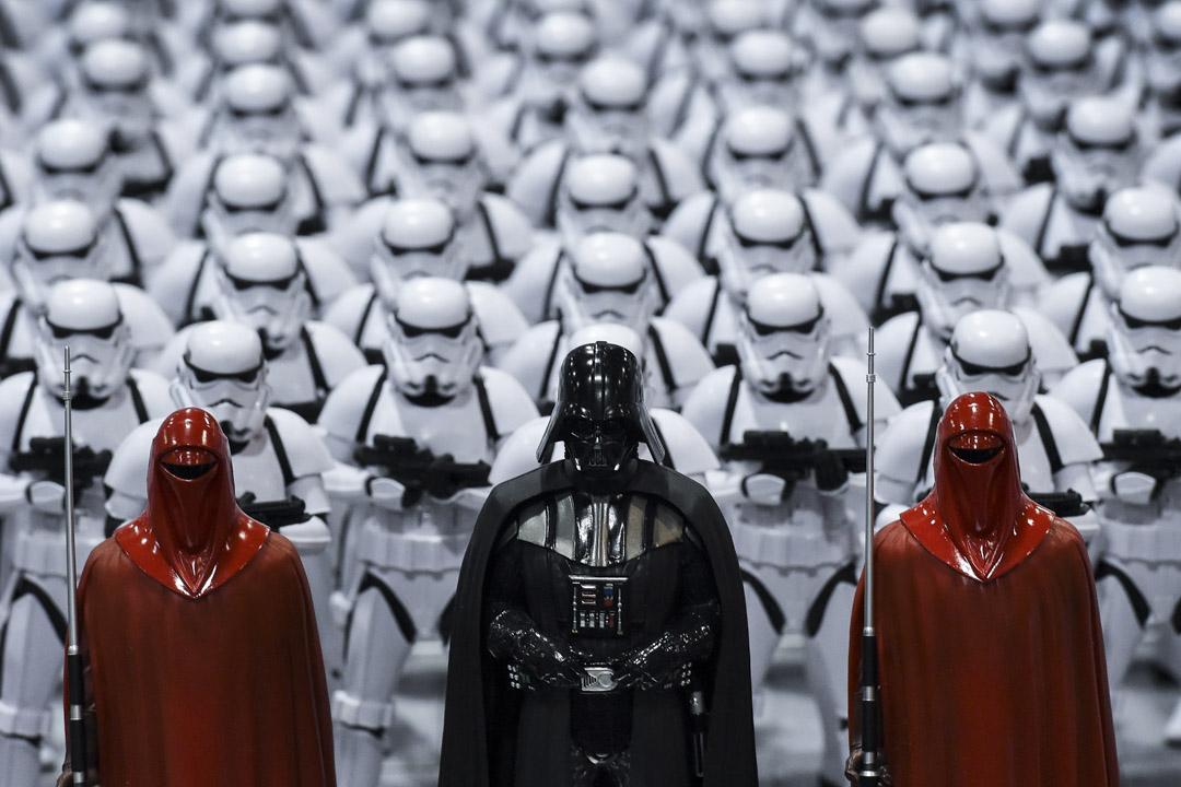 星戰電影中的反派,包括Darth Vader、帝國皇帝、和帝國軍隊等不少角色也成為星戰迷的崇拜對象。