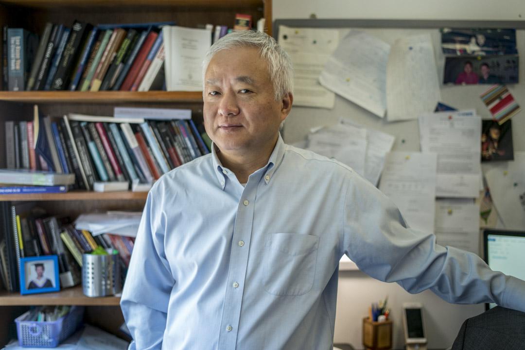 香港大學法學院副院長傅華伶教授。