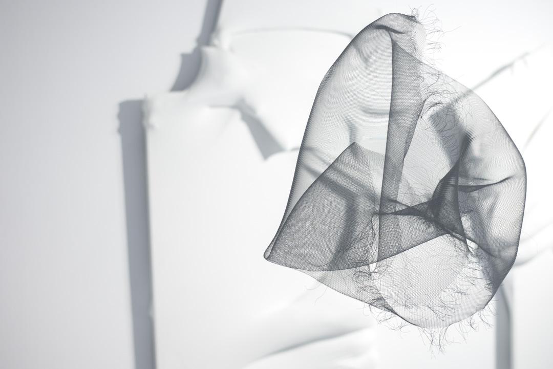 張爽個展《透明體》。