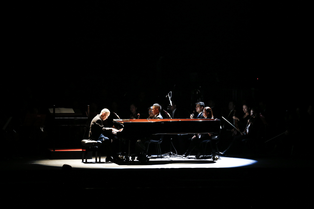 日本知名音樂家久石讓,舉辦過多場動畫音樂會。 攝:Imagine China