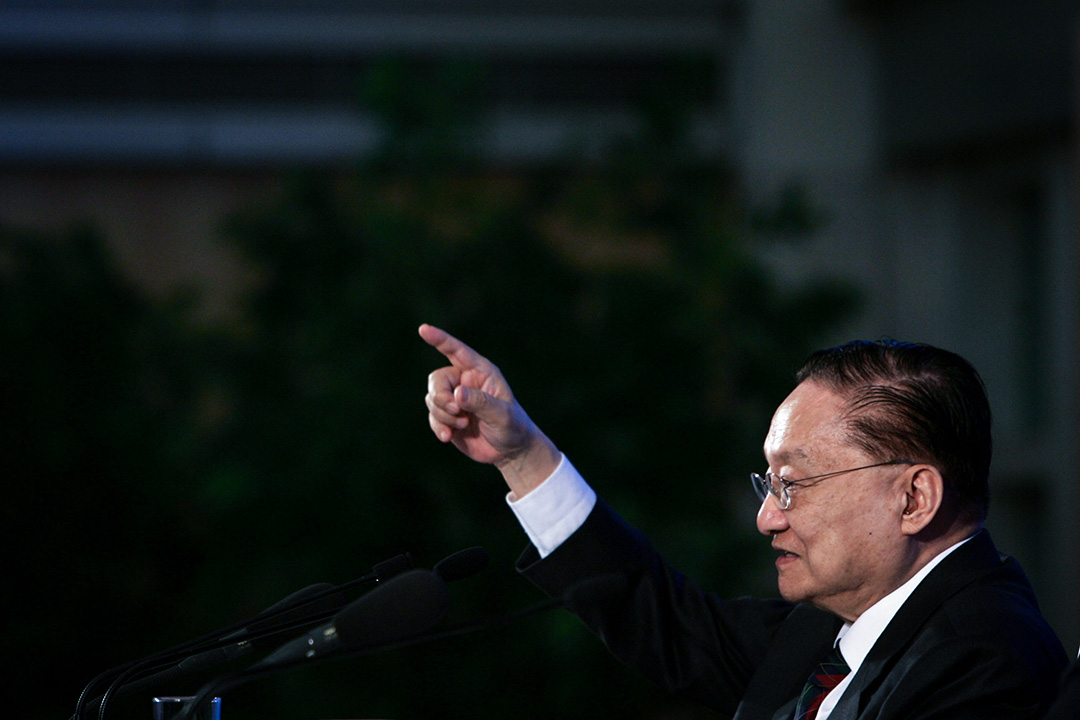 知名武俠小說作家金庸逝世,享年94歲。 攝:China Photos/Getty Images
