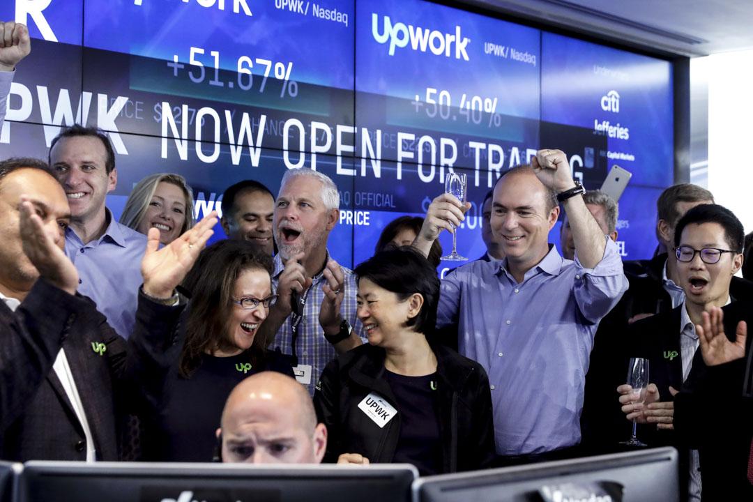 全球最大的綜合類人力外包服務平台Upwork在2018年10月4日於美國上市。