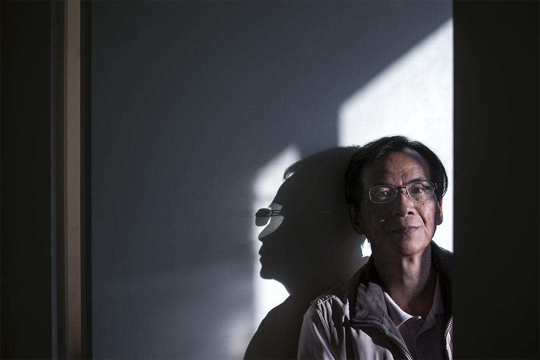 黃國堯牧師來自香港,因為創辦同志團契遭受排擠,數年前帶著妻子來到台灣,接下同光教會的職務。