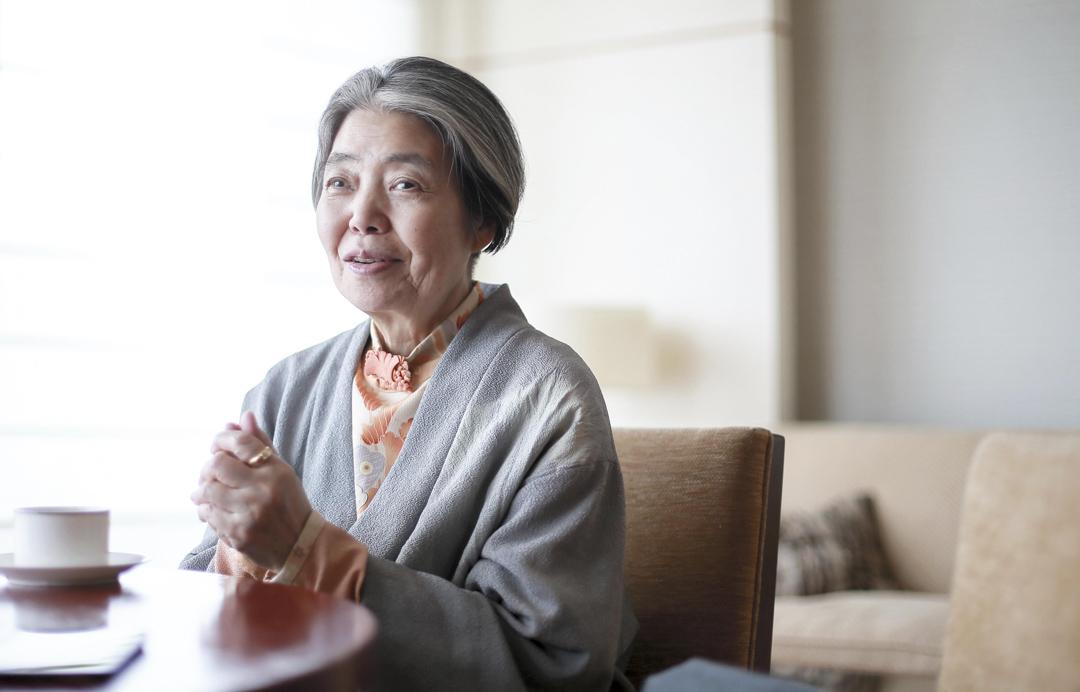 75歲日本殿堂級女演員樹木希林逝世,日前在東京南麻布的光林寺出殯。 攝:Imagine China