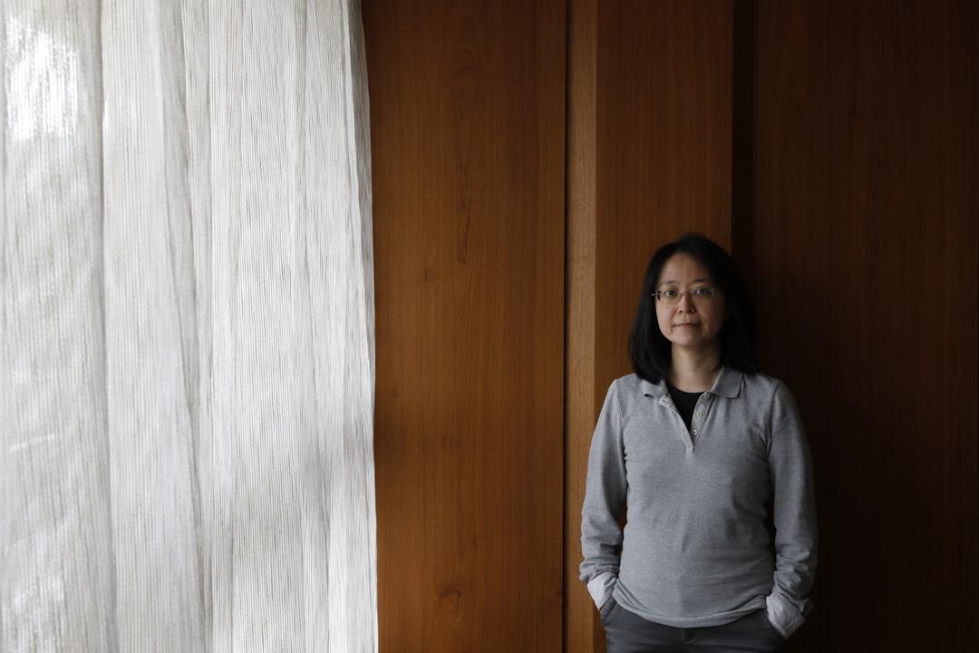 積極投入反性騷擾運動的作家張娟芬。