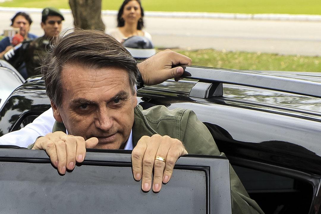2018年10月28日,巴西極右翼總統候選人博爾索納羅(Jair Bolsonaro)在第二輪投票中獲勝,成為巴西總統。