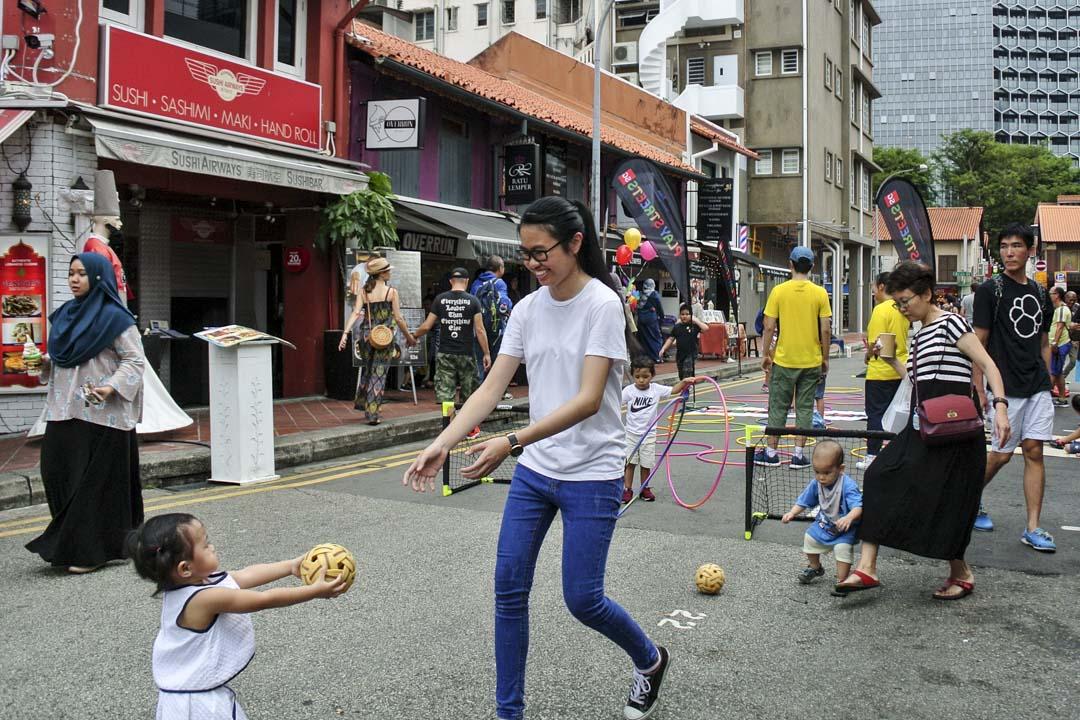 歐美已行動多年的街頭遊戲與兒童遊戲權,開始在亞洲國家起步。