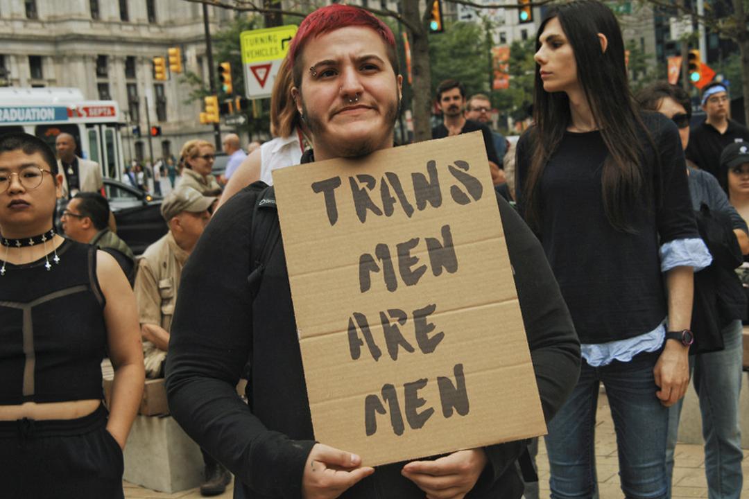 圖為2018年10月6日,有跨社別社群團體在美國費城舉行遊行,爭取基本人權及公民權益。 攝:Cory Clark / Getty Images