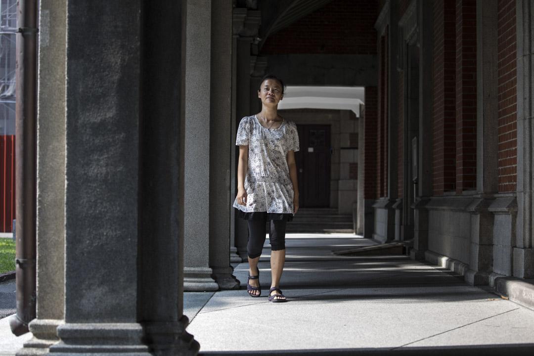 師大女學生代言人、現為高雄師範大學性別教育研究所教授的楊佳羚。