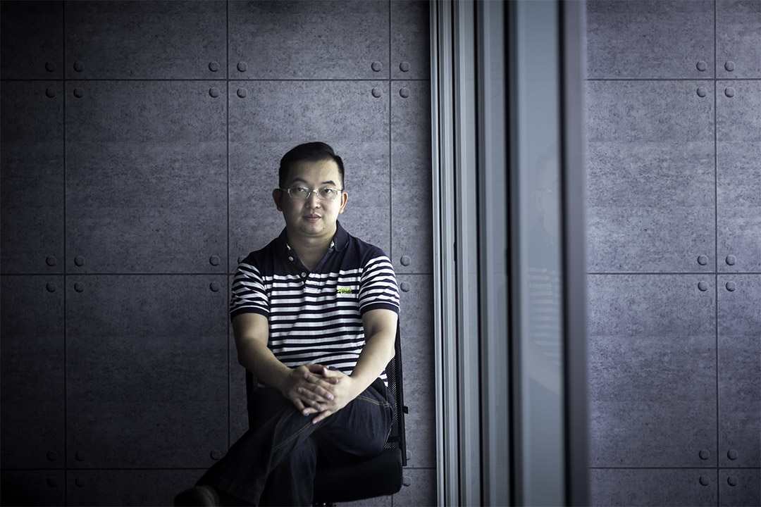 今年42歲的王友光,是曾被捲入中國創業巨浪的人。 攝:陳焯煇/端傳媒