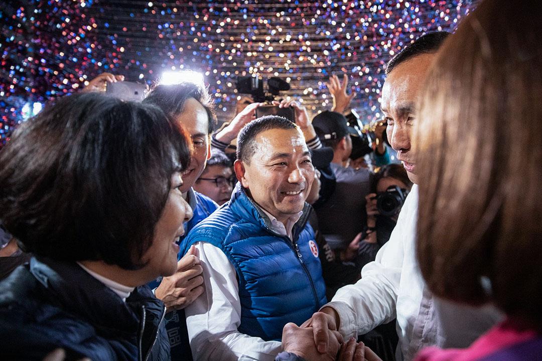 2018年11月24日,侯友宜宣布勝選。
