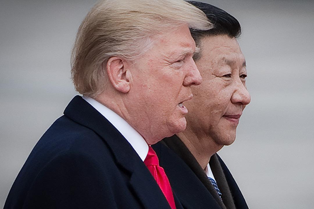 中美兩國領導人習近平與特朗普通了電話,兩國領導人均表示,期待兩人在阿根廷二十國集團領導人峰會期間(G20)再次會晤,「就一些重大問題進行深入探討」。 攝:Nicolas Asfouri/AFP via Getty Images