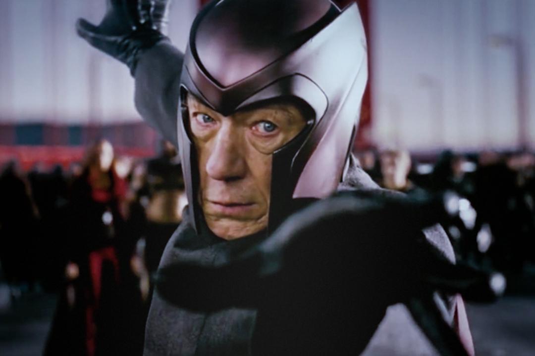 Ian McKellen演出的萬磁王。