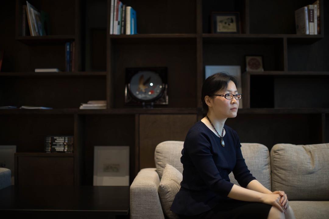 政治學家洪源遠。 攝:Stanley Leung/端傳媒