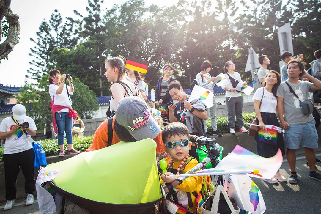 2018年10月27日,台北同志遊行。 攝:陳焯煇/端傳媒
