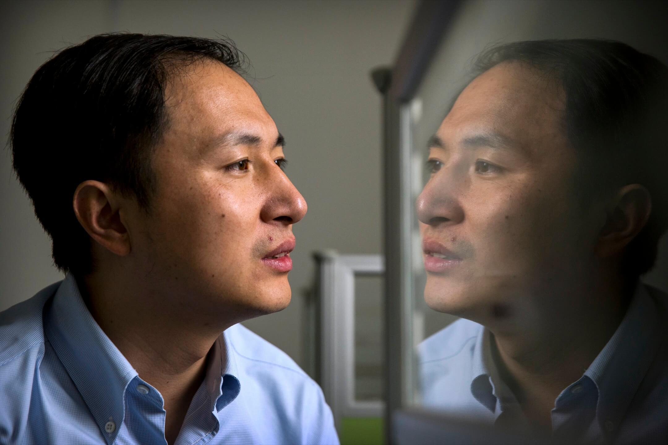 中國南方科技大學科學家賀建奎。