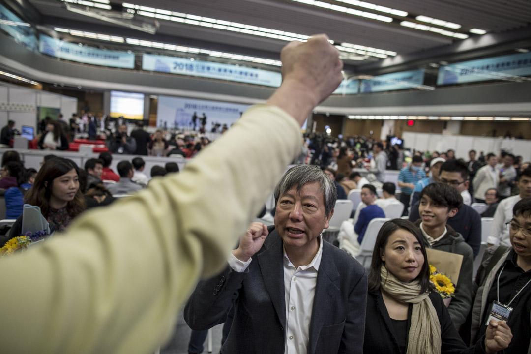 李卓人獲得93047票。