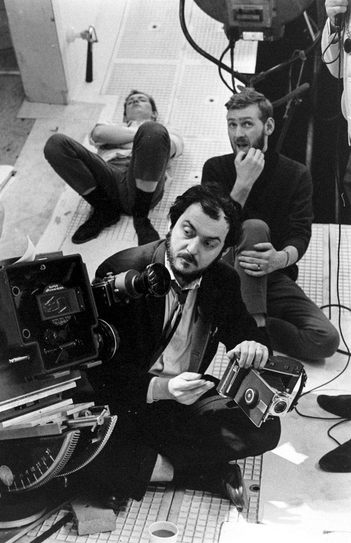 《2001太空漫遊》導演Stanley Kubrick。