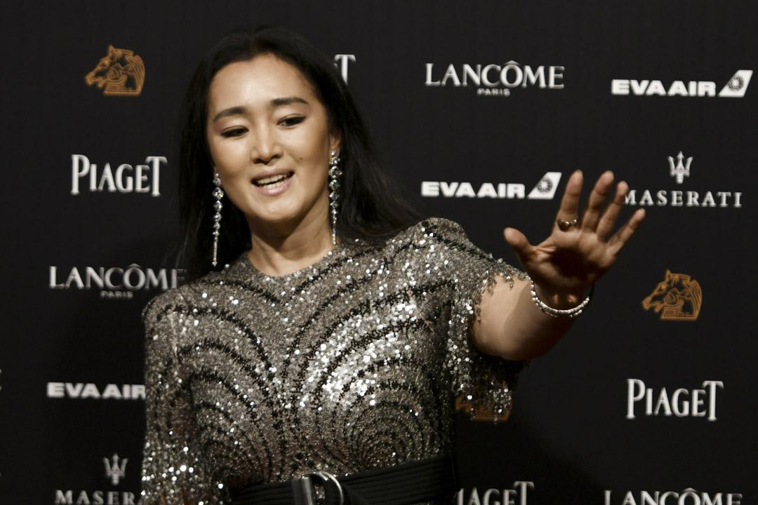 金馬獎評審團主席鞏俐並沒有上台頒發最佳劇情片。