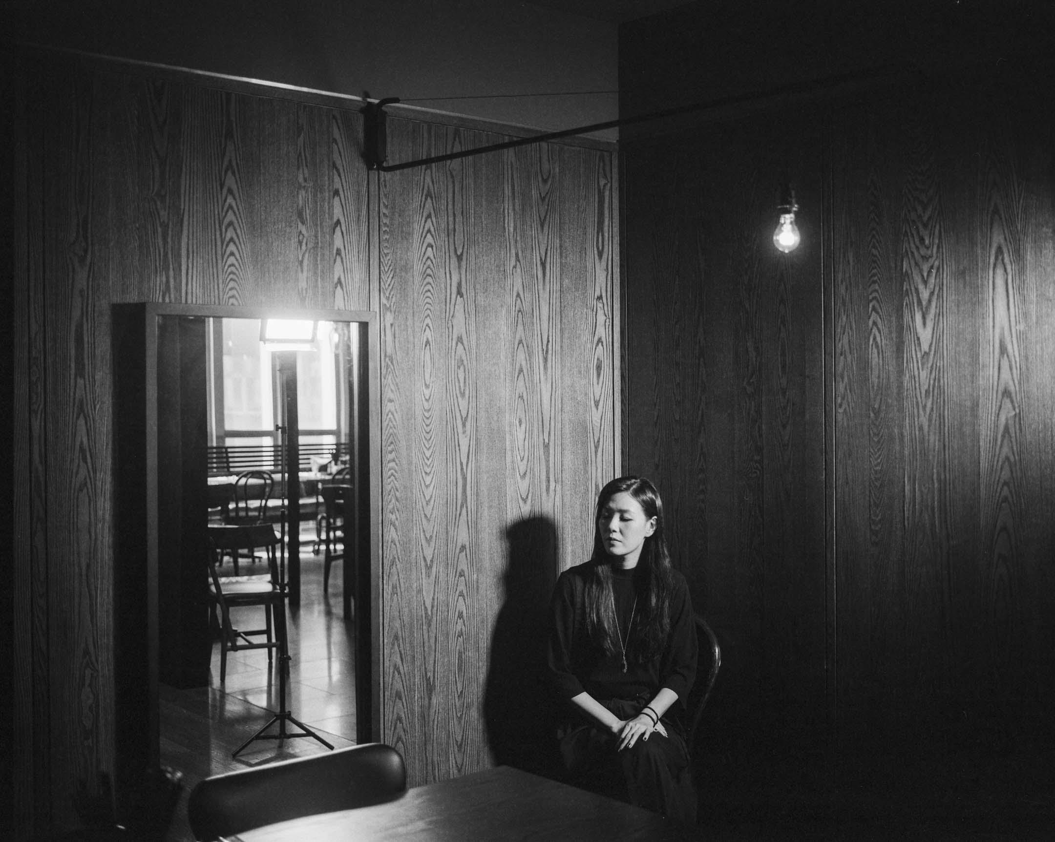 台灣創作歌手安溥。 攝:林振東/端傳媒