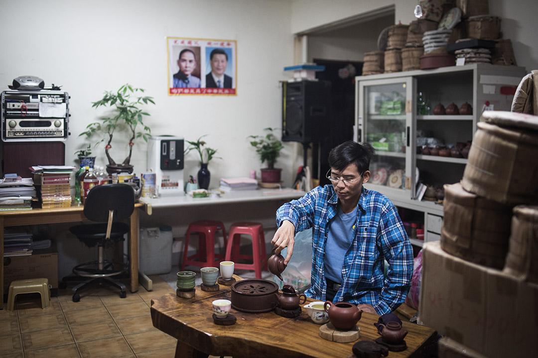 鄭建炘以自己的家作為辦事處。
