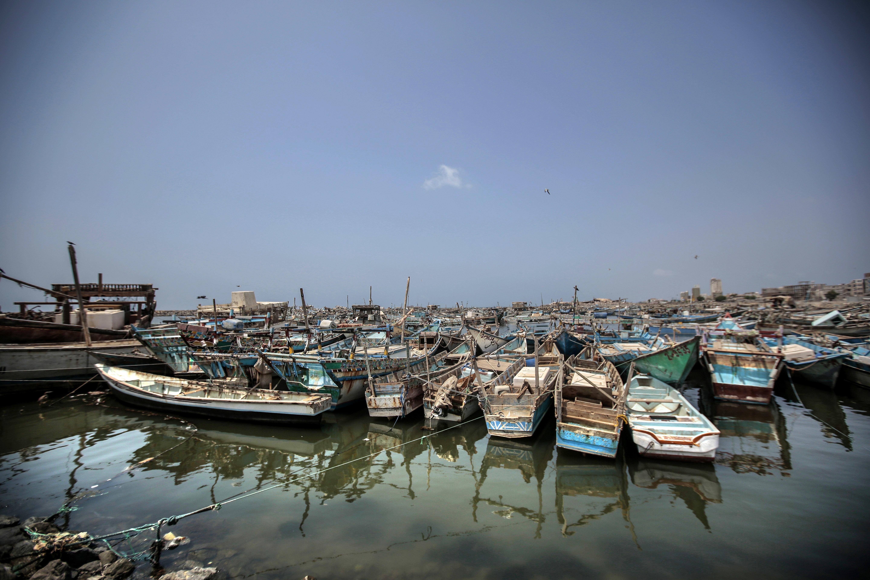 圖為荷台達(Hodeida),也門一大捕漁口岸。