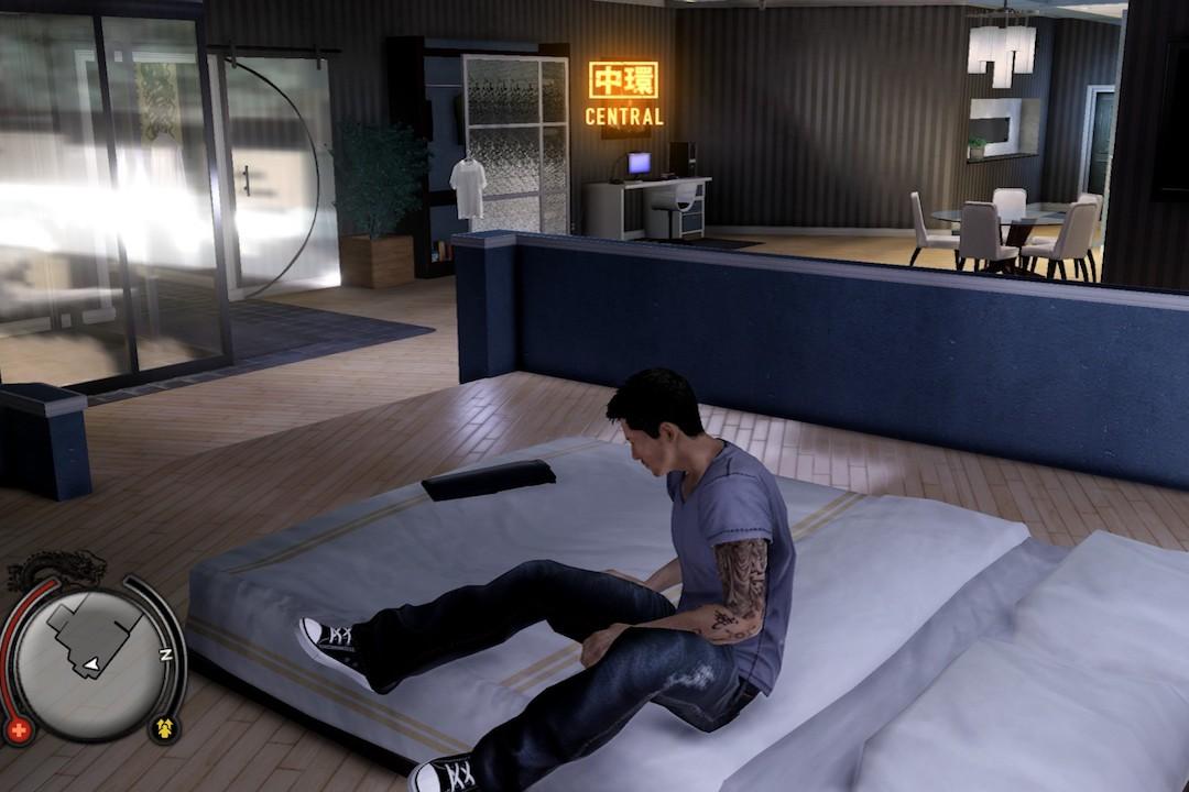 男主角的中環寓所。