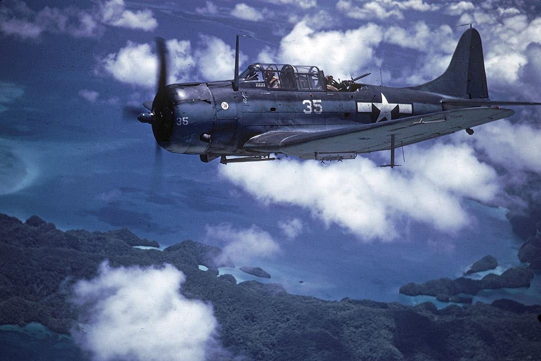 第二次世界大戰期間,美軍與日軍在帛琉此進行過多次小規模戰鬥。