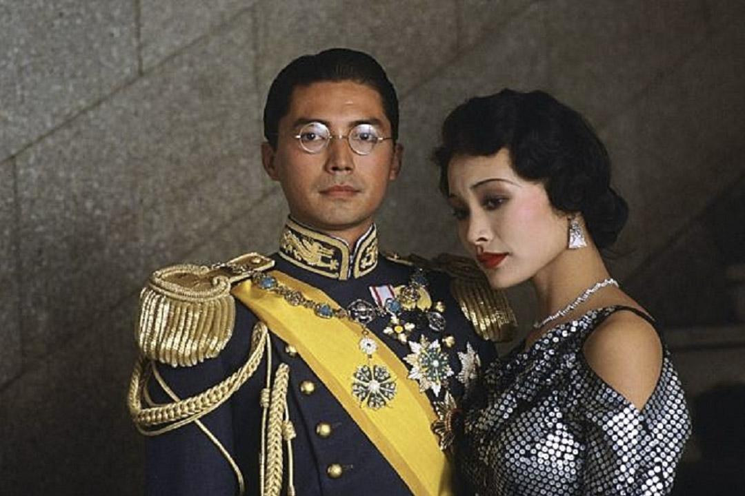《末代皇帝》電影劇照。