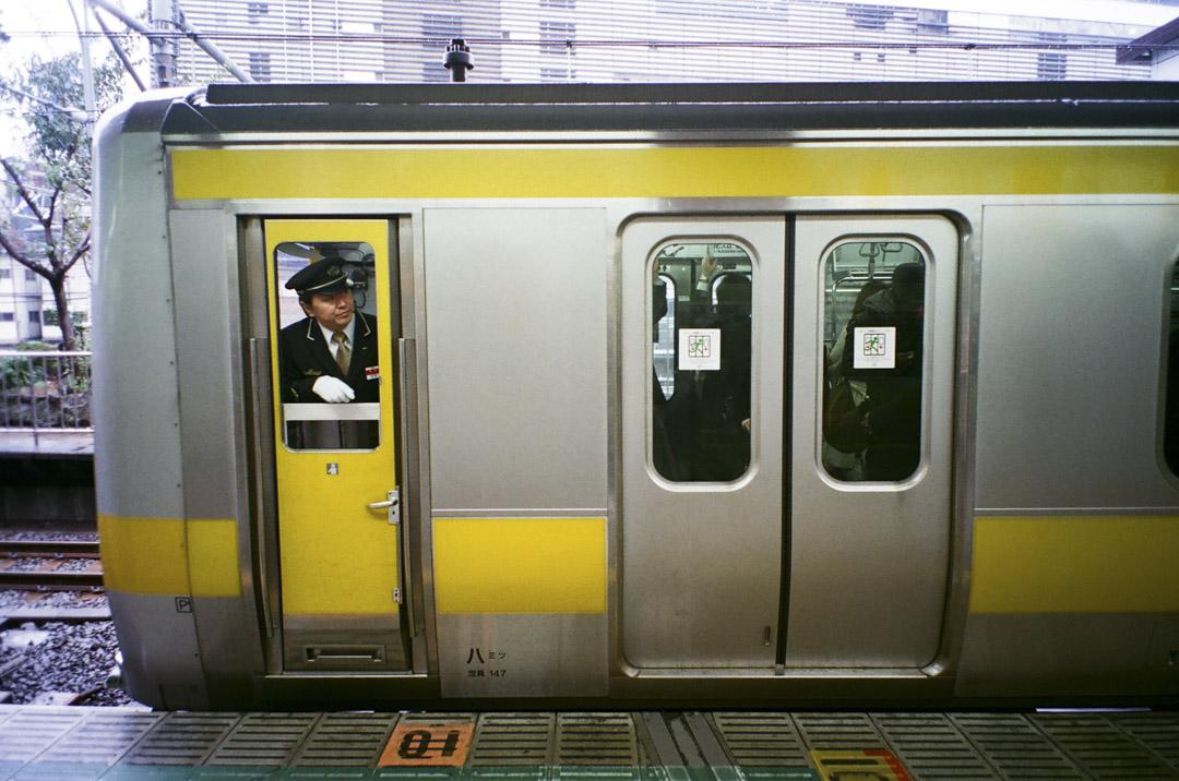 日本鐵路上的列車司機。