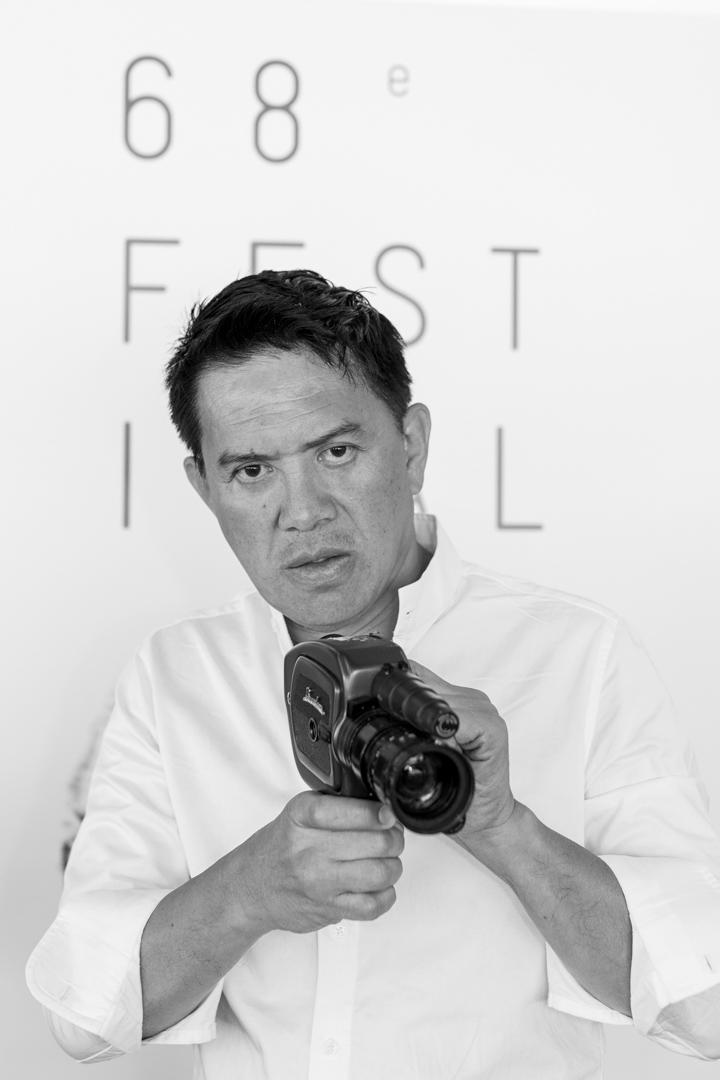 2015年,布里蘭特・曼多薩(Brillante Mendoza)出席68屆康城電影節。