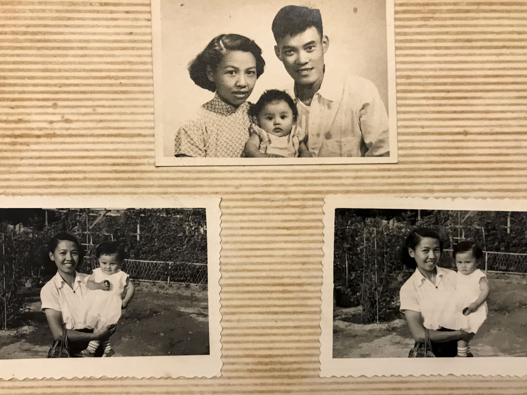 彭耀坪與太太楊潔璦。