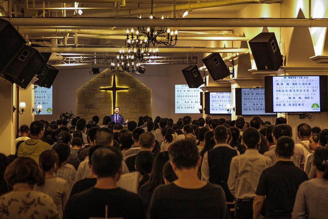 成都秋雨聖約教會百人被捕。 圖:秋雨聖約教會 Facebook