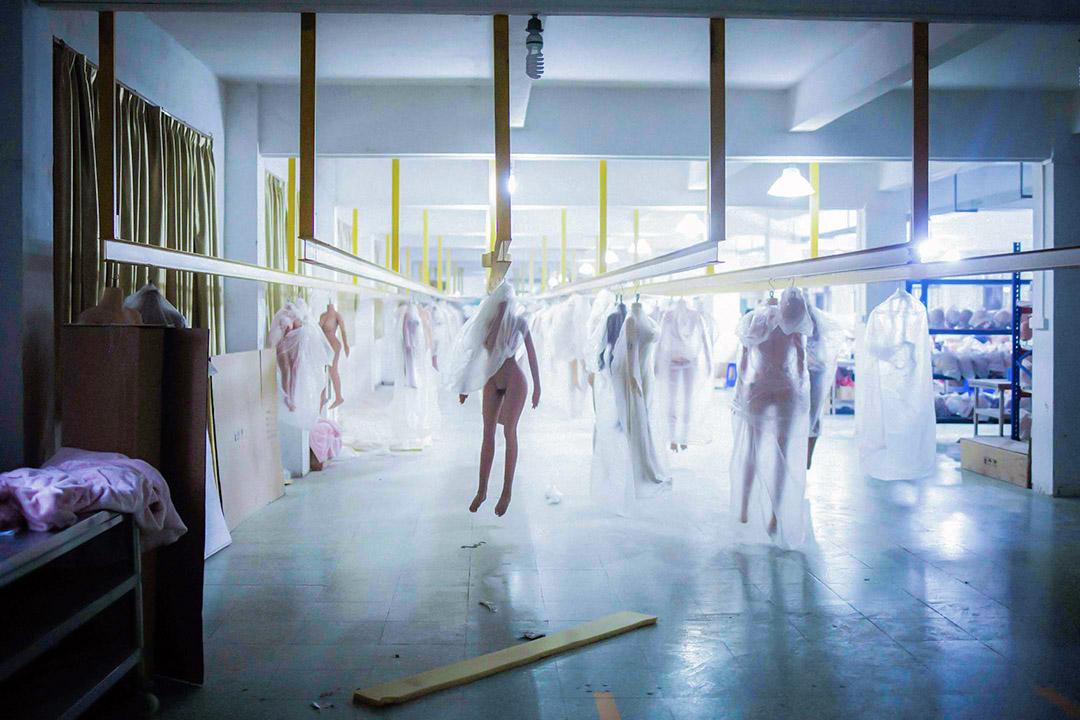 性愛娃娃工廠。